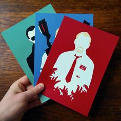 Cornetto Trilogy Prints