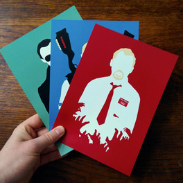 Cornetto Trilogy Prints