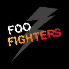 ACDC X Foo Fighters Band Logo