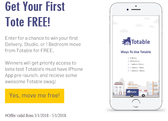Totable Announces New Giveaways for New and Existing Clients