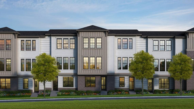Can't afford a house near uptown? These townhomes could be the solution.