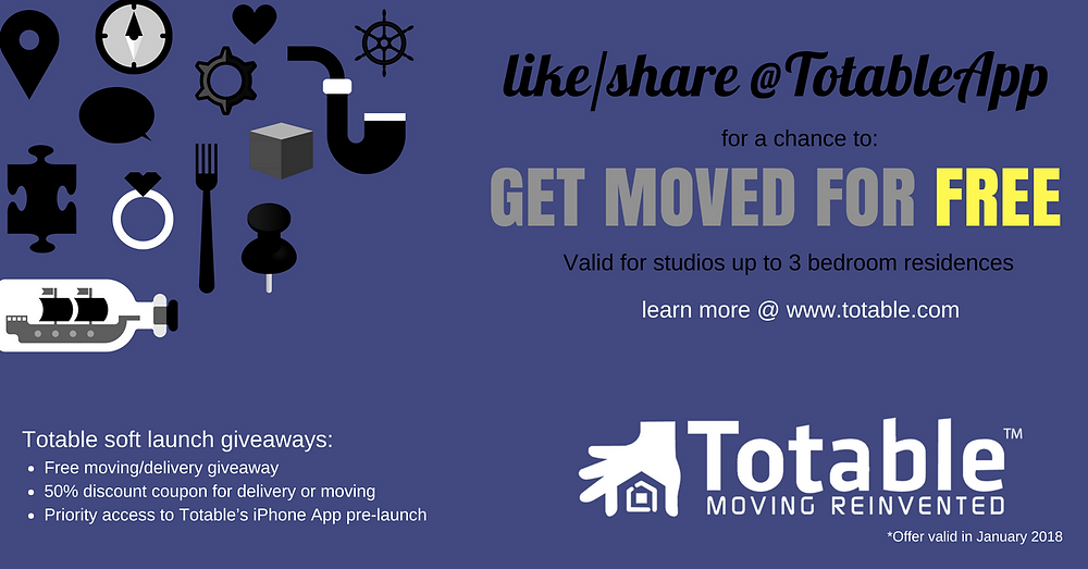 Totable Soft Launch Giveaways in Charlotte, NC