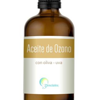 Diseño de Etiqueta para aceite Ozenciales