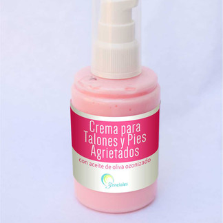 Etiqueta para crema Ozenciales