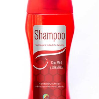 Etiqueta para Shampoo Ozenciales
