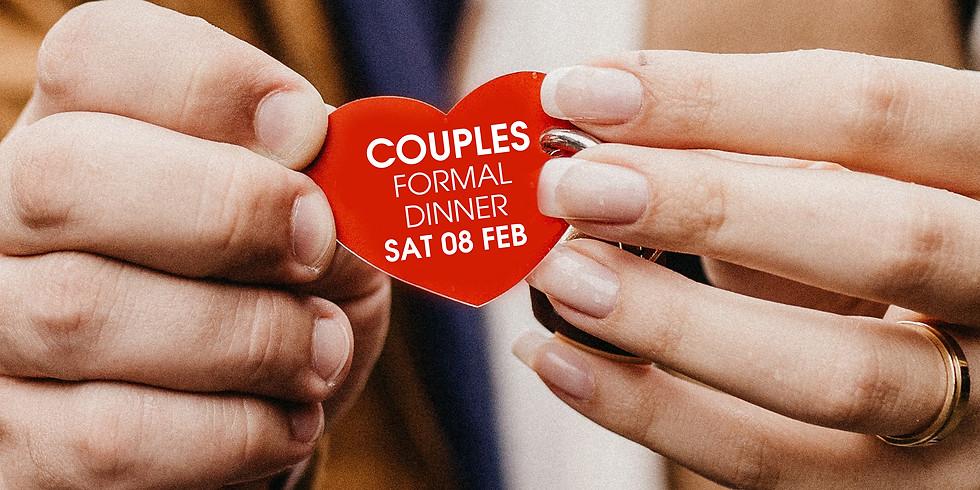 COUPLES FORMAL DINNER