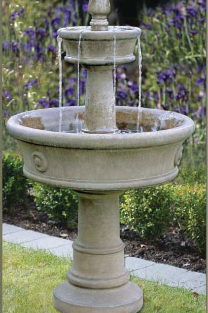CARERRA CONCRETE FOUNTAIN by Gardenstone