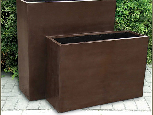BISTRO SMALL TROUGH FIBERGLASS - by Gardenstone