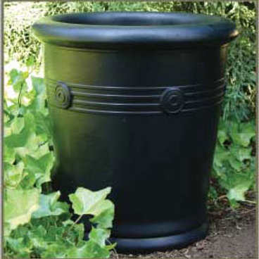 CHROMA CONCRETE MEDIUM PLANTER by Gardenstone