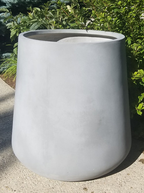Extra Large Grey Stout Planter