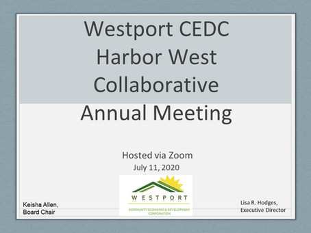 Westport CEDC/Harbor West Collaborative Annual Meeting