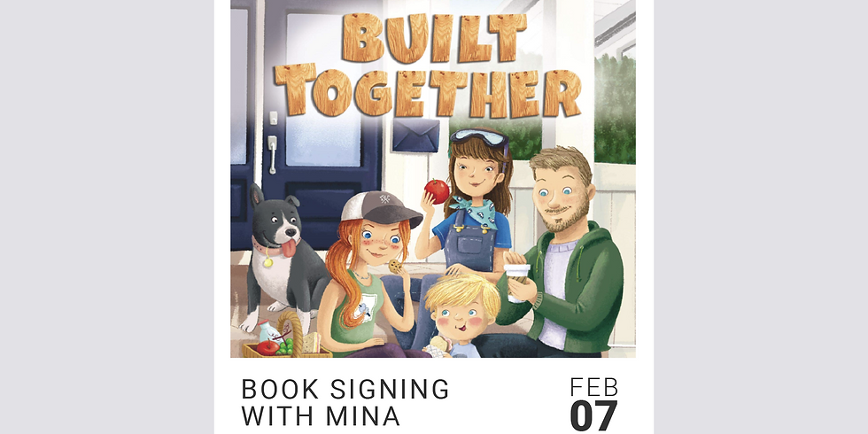 Book Signing: 10:30am-11am