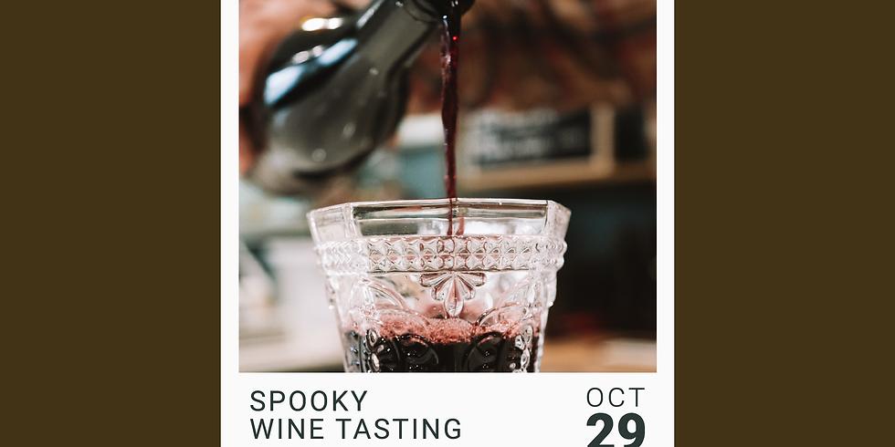 Spooky Wine Tasting