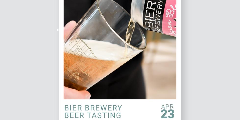 Bier Brewery Tasting - FREE