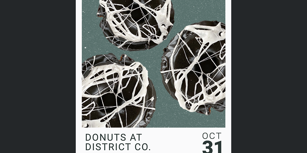 Donuts at District Co.