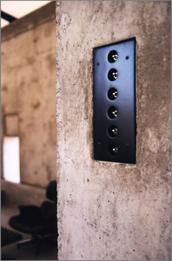 Light Switches on an Interior Wall
