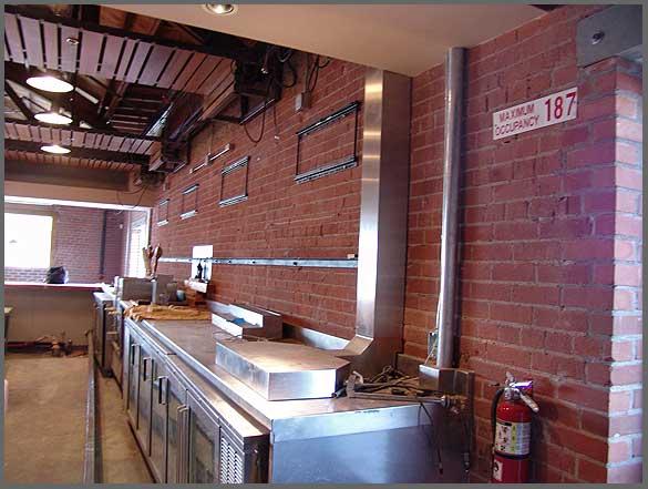 Restaurant Fixtures by Rocket FAB