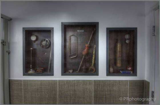 Men's Bathroom Display