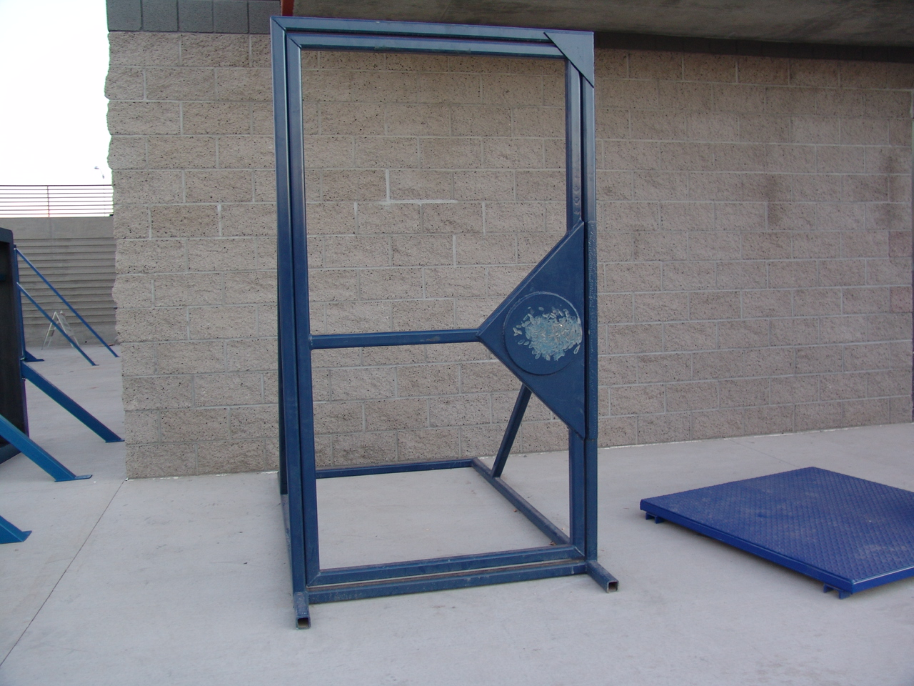 Smash Door Forcible Entry Prop