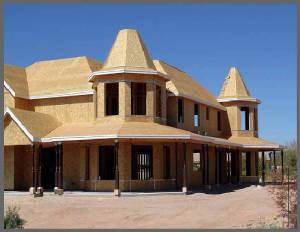 Client's Home Under Construction