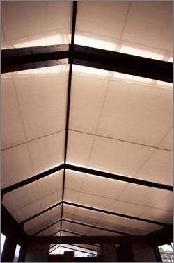 Underside View of Roof