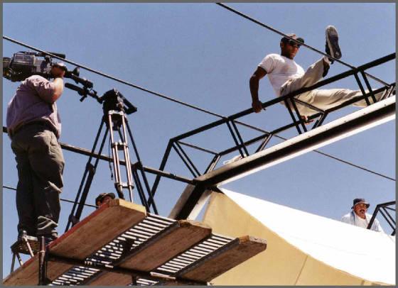 HGTV Film Crew on Site