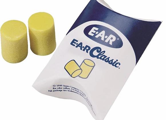 E-A-R Plugs- 3 Pairs
