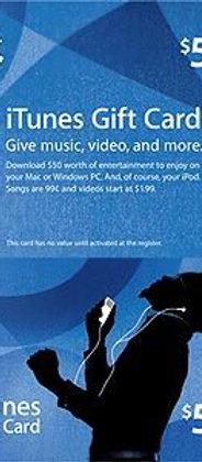 美版 iTunes Gift Card US50