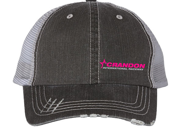 Color Collection Distressed Bill Hat