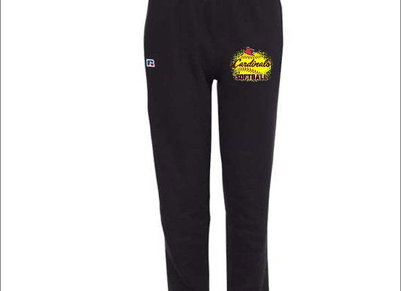 Russell Athletic - Cotton Rich Open Bottom Sweatpants