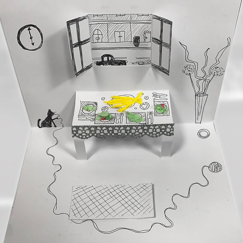Pop Up Kunst trifft Eat Art von Daniel Spoerri