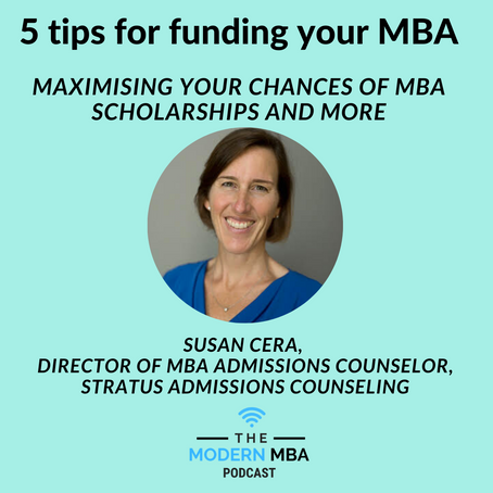 Maximising your chances of MBA Scholarships and more!