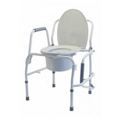 DROP ARM BEDSIDE COMMODE