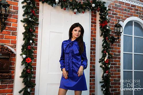 Лорен ярко-синий