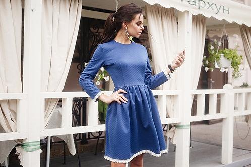 Платье София синий