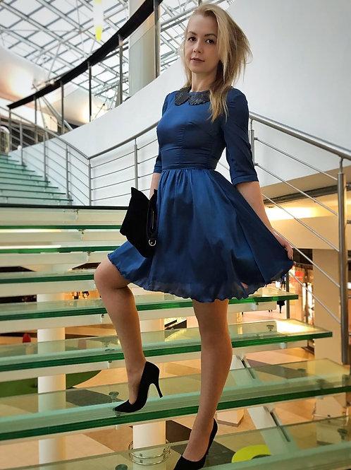 Платье Милана синее new 2017»»