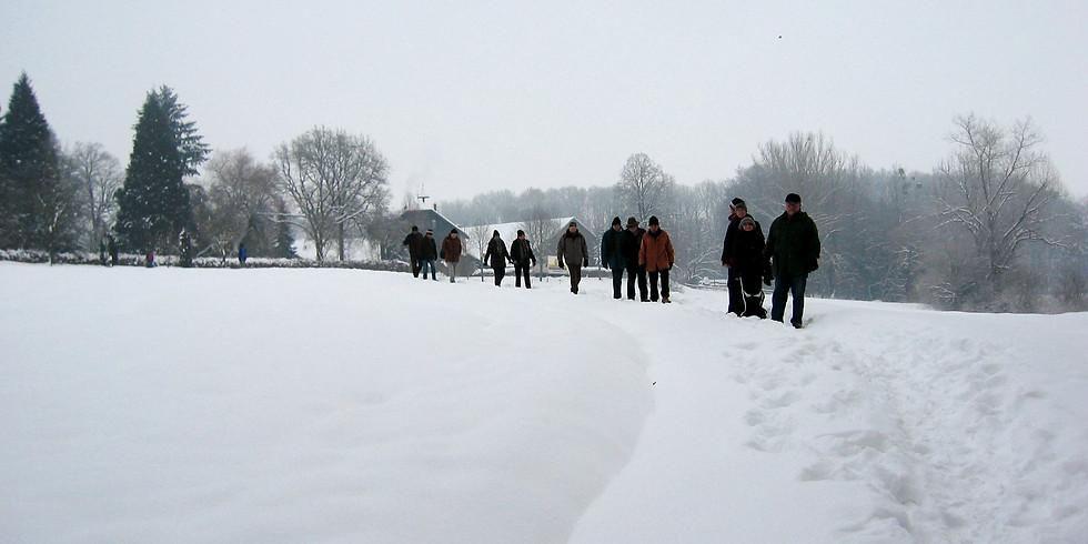 Winterwanderung der UWG und JBN