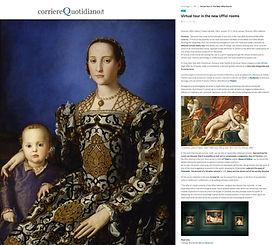 Virtual tour in the new Uffizi rooms ⋆ C