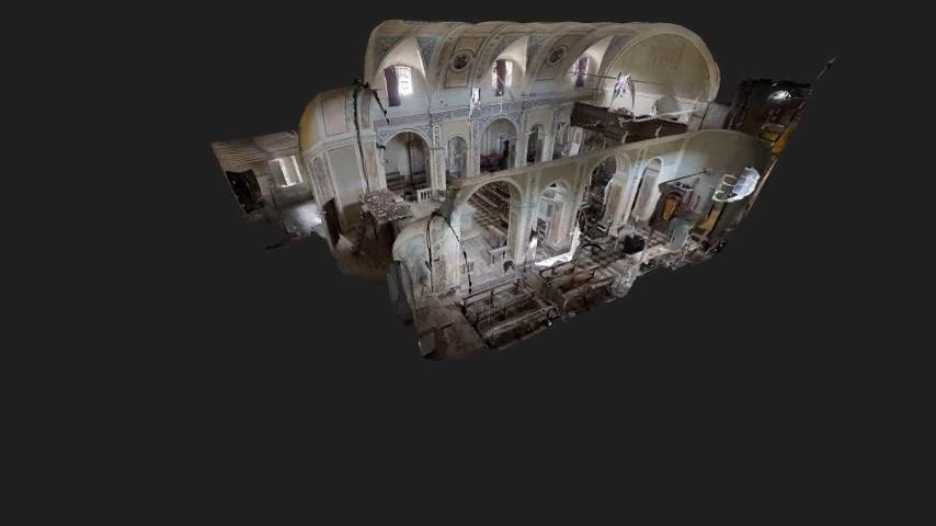 Esempio di animazione del tour immersivo