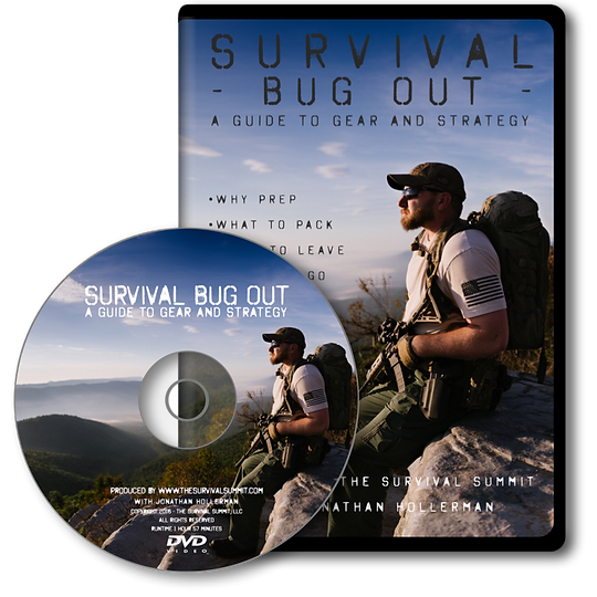 Jonathan Hollerman - Survival Bug Out DVD