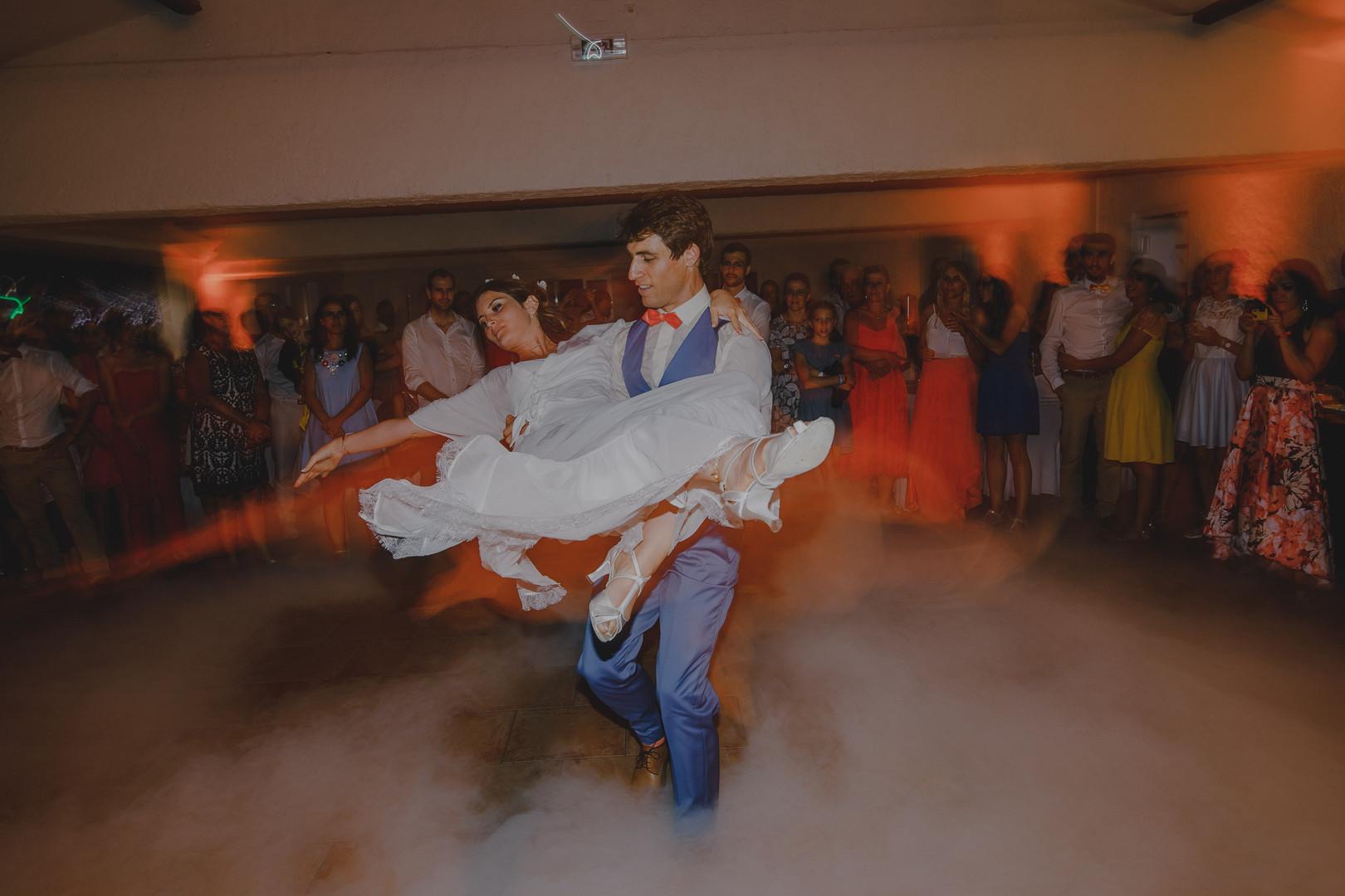 La chorégraphie des mariés