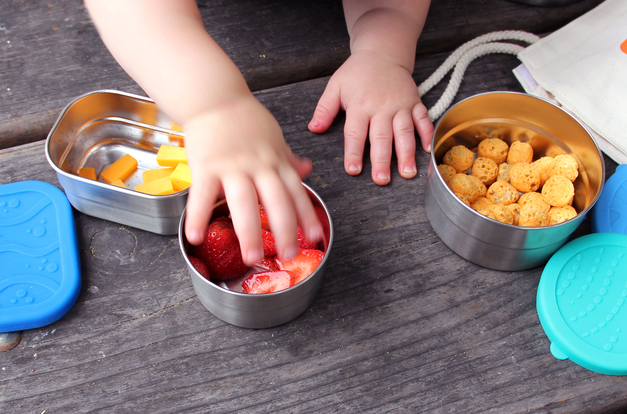 ECOlunchbox Containers Little-Hands