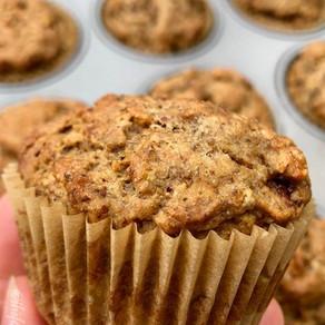 Healthy Vegan Banana Muffins