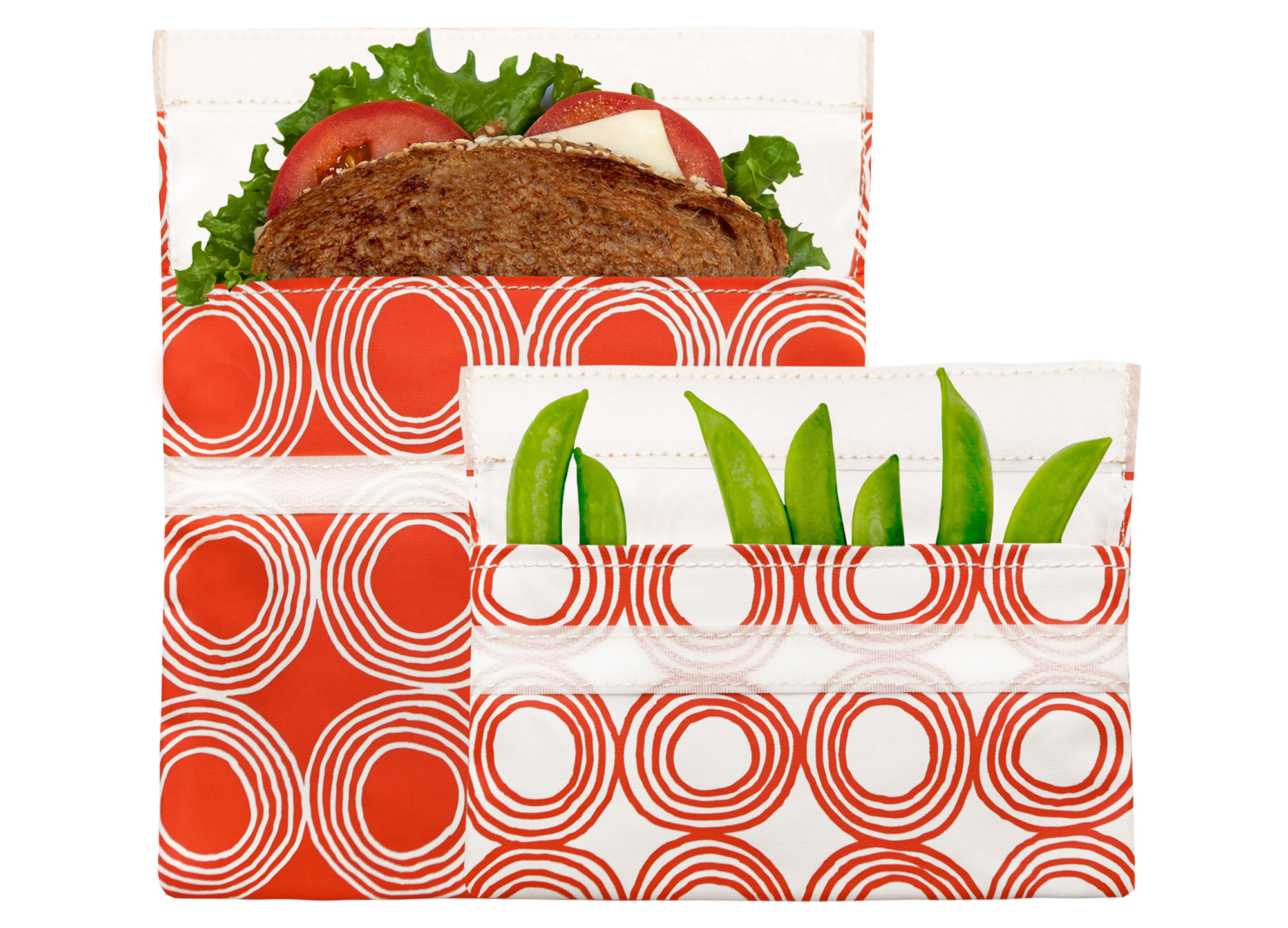 Lunchskins Reusable Velcro Bags