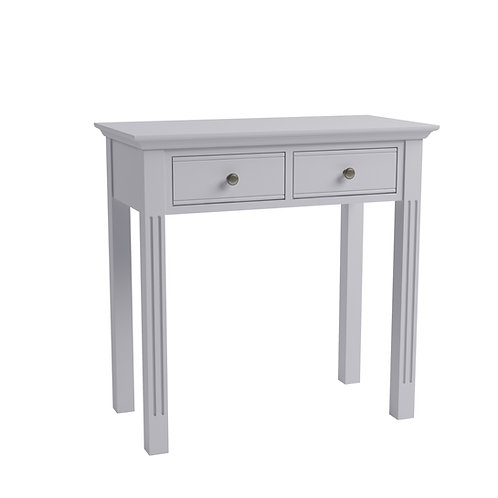 Carlisle Grey Dressing Table, Stool + Mirror Package
