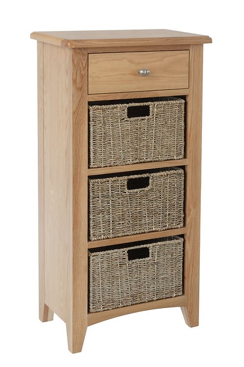 Ambleside 1 Drawer 3 Basket Unit