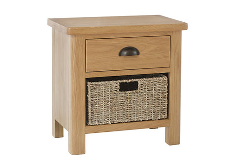 Kendal 1 Drawer 1 Basket Unit