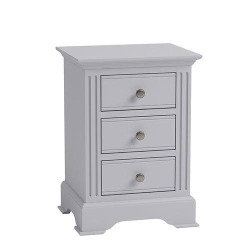 Carlisle Grey Large Bedside Cabinet