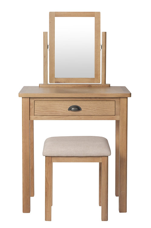 Kendal Dressing Table, Mirror & Stool