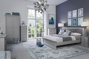 Carlisle Grey Bedroom Collection